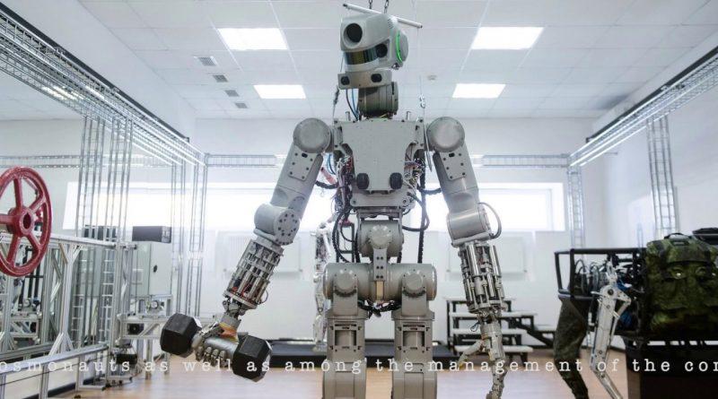 Skybot F-850, un robot sulla Sojuz fino alla Stazione Spaziale